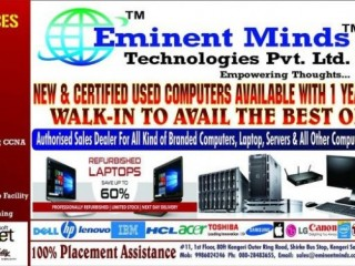 Eminent Minds Technologies Pvt Ltd has been successful in Refurbished computer sales at Best Price!!