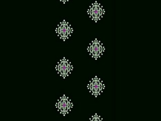 Daman Dress Embroidery Design